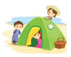 family-beach-tent
