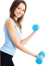 women-with-dumbbell