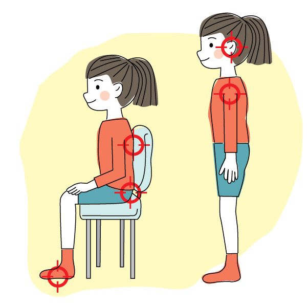 Child Posture, The Right Way | Positive Parenting