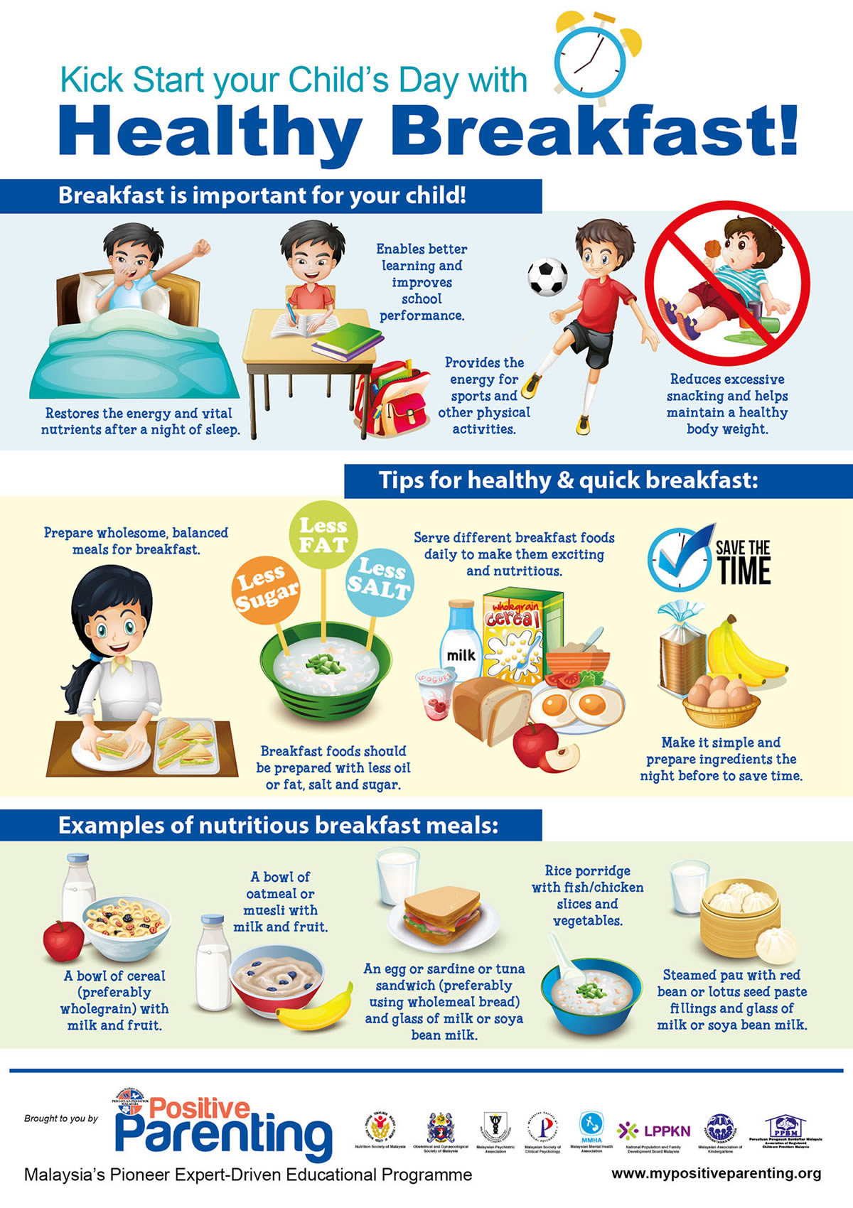 Kick Start your Child's Day with Healthy Breakfast ...