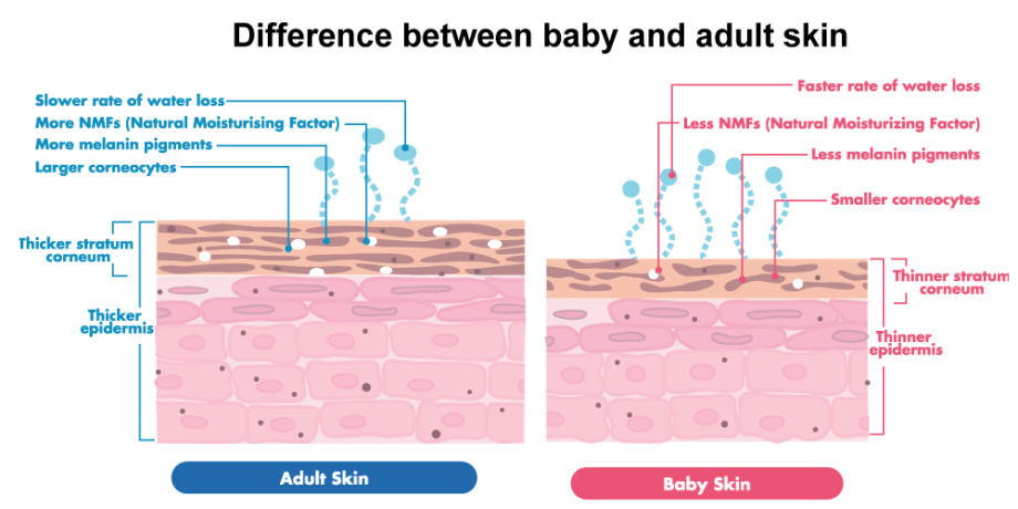 Natural Baby Skin Products