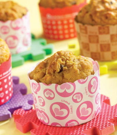 pumpkin-apple-muffin