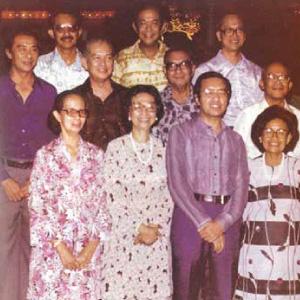 Tun Dr Mahathir, Tun Dr Siti Hasmah and her siblings