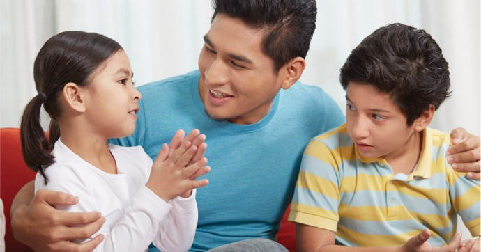 Positive Conversations with Your Child - Positive Parenting